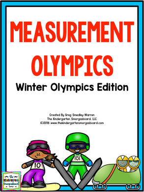 Olympics! Measurement Olympics Winter Olympics Edition