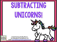 Subtracting Unicorns!