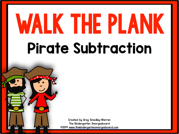 Pirate Subtraction!
