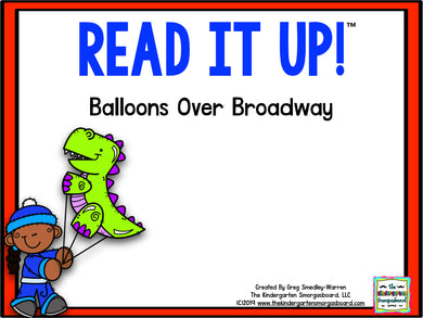 Read It Up! Balloons Over Broadway