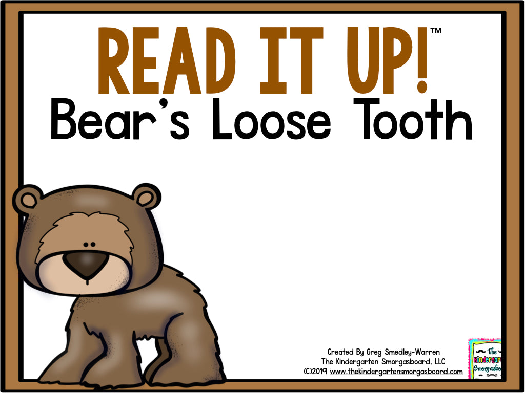 Read It Up! Bear's Loose Tooth