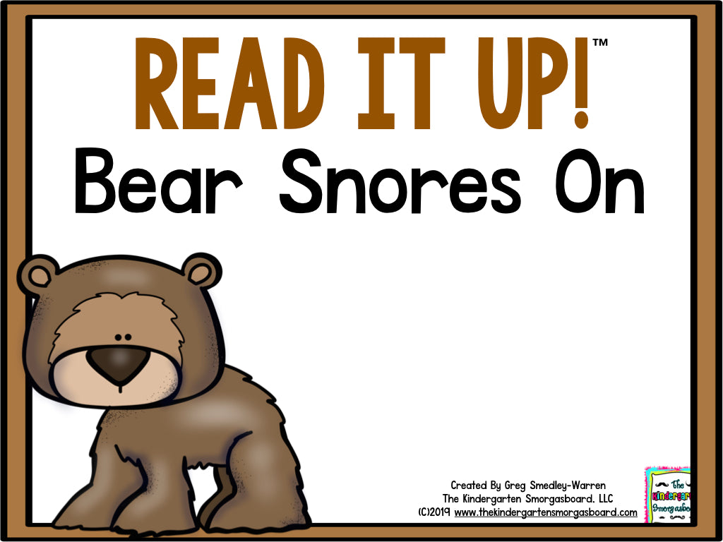 Read It Up! Bear Snores On