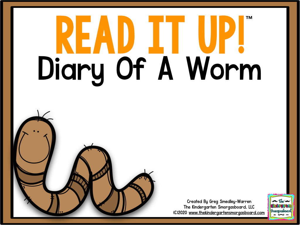 Read It Up! Diary Of A Worm
