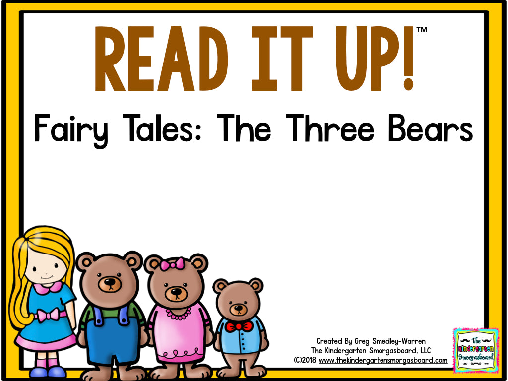 Read It Up! Fairy Tales: Goldilocks and the Three Bears