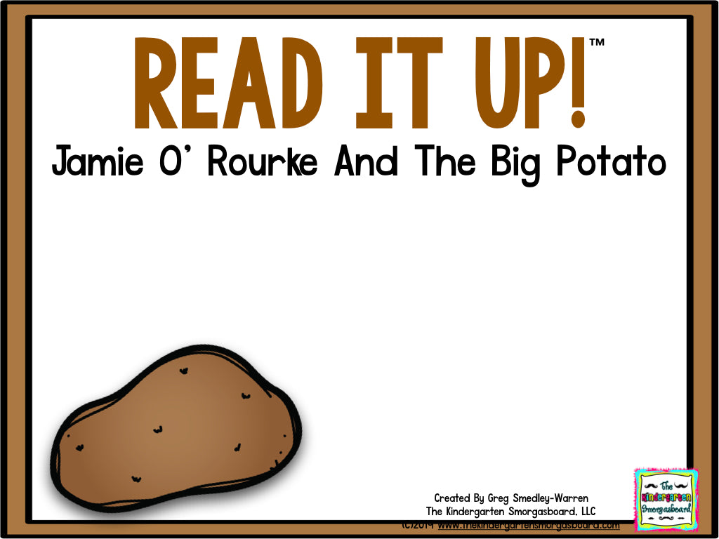 Read It Up! Jamie O'Rourke and The Big Potato