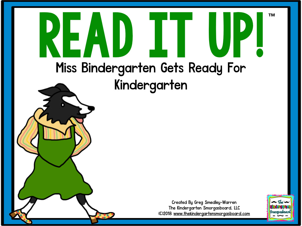 Read It Up! Miss Bindergarten Gets Ready for Kindergarten