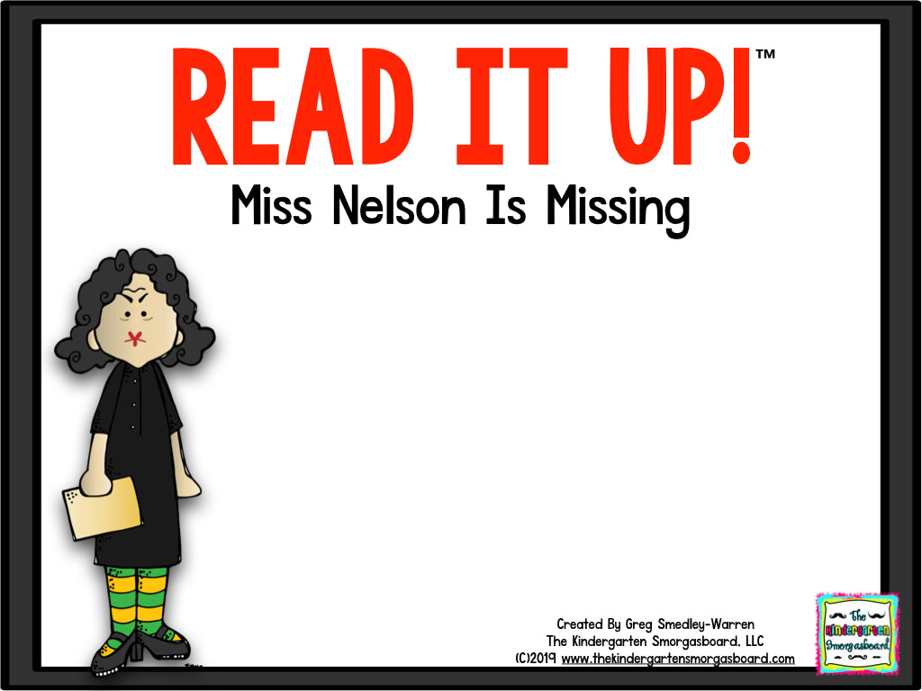 Read It Up! Miss Nelson is Missing