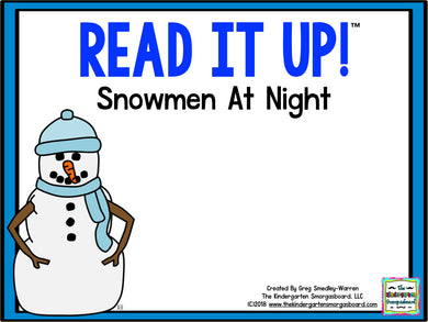 Read It Up! Snowmen at Night