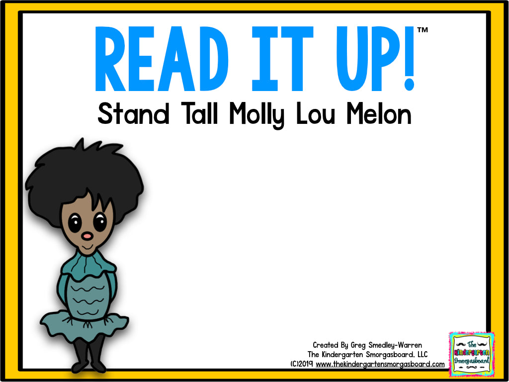 Read It Up! Stand Tall, Molly Lou Melon