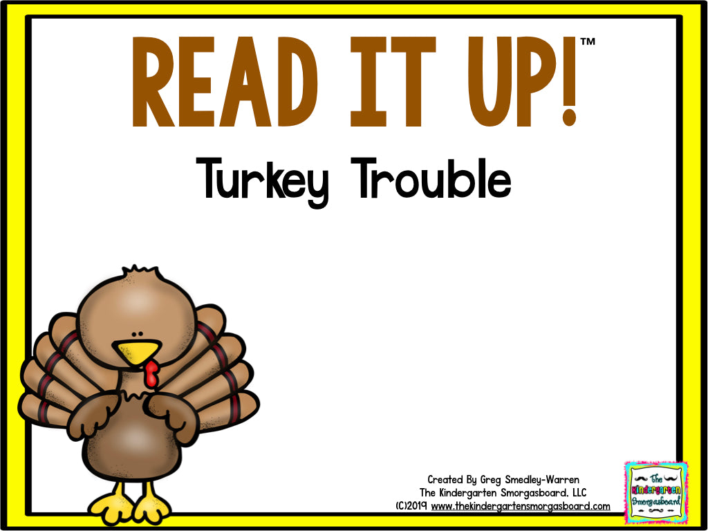 Read It Up! Turkey Trouble