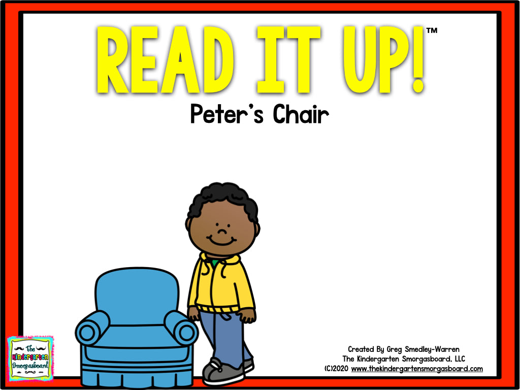 Read It Up! Peter's Chair