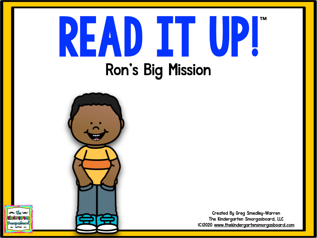 Read It Up! Ron's Big Mission