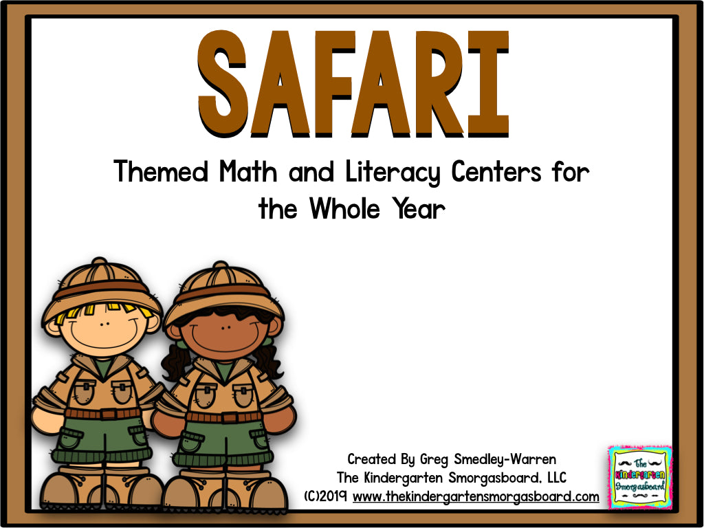 Safari Centers for the Whole Year!