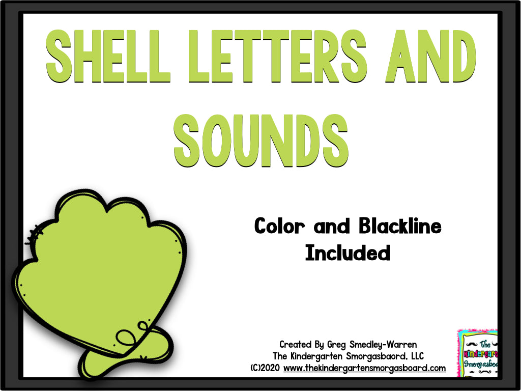 Shell Letters & Sounds