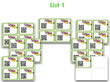 Sight Word QR Codes!