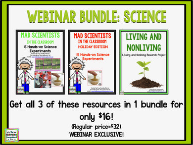 Webinar Bundle - Science