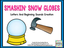 Smashing Snow Globes! Letters and Sounds
