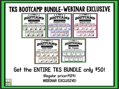 WEBINAR EXCLUSIVE - TKS Bootcamp Monster Theme