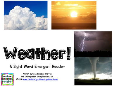 Weather! Emergent Reader