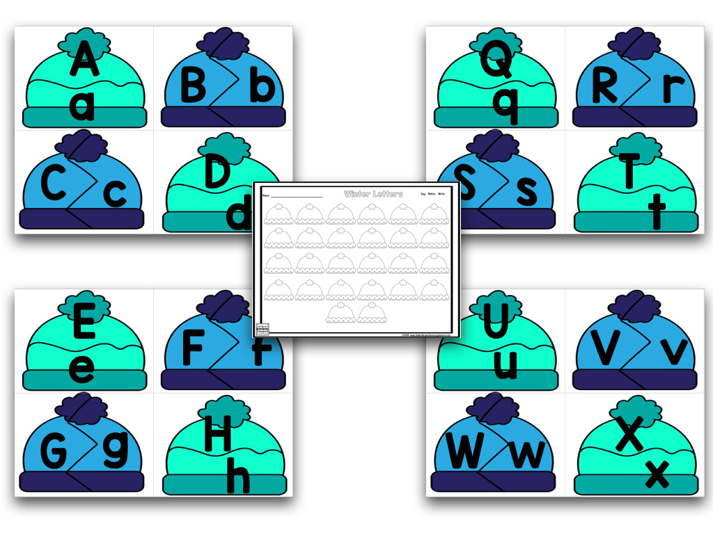 Winter Learning: Letters, Sounds, Numbers & Counting – The ...