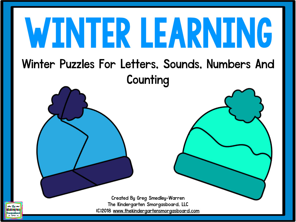 Winter Learning: Letters, Sounds, Numbers, and Counting