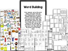 Word Family Bootcamp (No Theme)