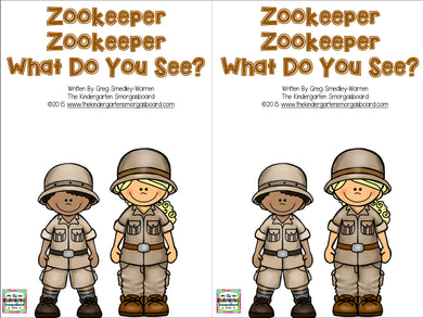 Zookeeper Zookeeper, What Do You See? Emergent Reader