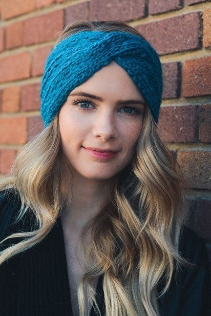 Twisted Knit Headband {Multiple Colors}