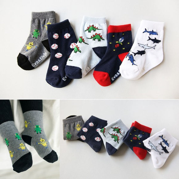 Boys Assorted Sock Pack