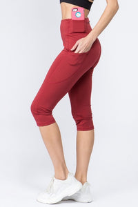 Marco Capri Leggings {Brick}