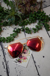 Rowen Sunglasses {Grapefruit}
