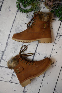 Top It Off Fur Accent Boot