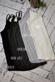 Liz Reversible Tank {Multiple Colors}