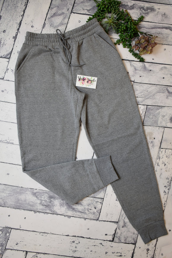 Julie Jogger Pants {Light Grey}