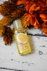 Hand Sanitizer Minis {Lemon}