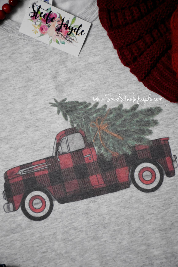 Ruffled Up Tie-Dye Top
