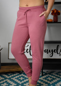 Adrian Relaxed Jogger {Begonia}