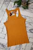 Ribbed Racerback Tank {Mulitple Colors}