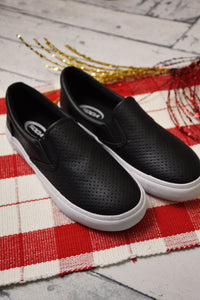 Oakley Laser Cut Slip-On {Black}