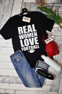 Real Women Love Football Tee