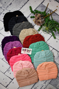 Kids Solid Must-Have Beanie {Multiple Colors}