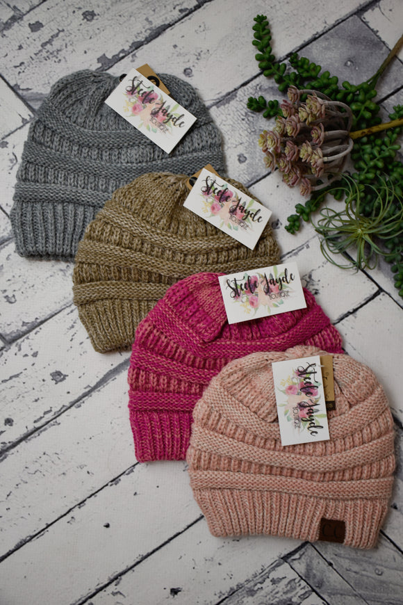 Dual-Tone Must-Have Beanie {Multiple Colors}