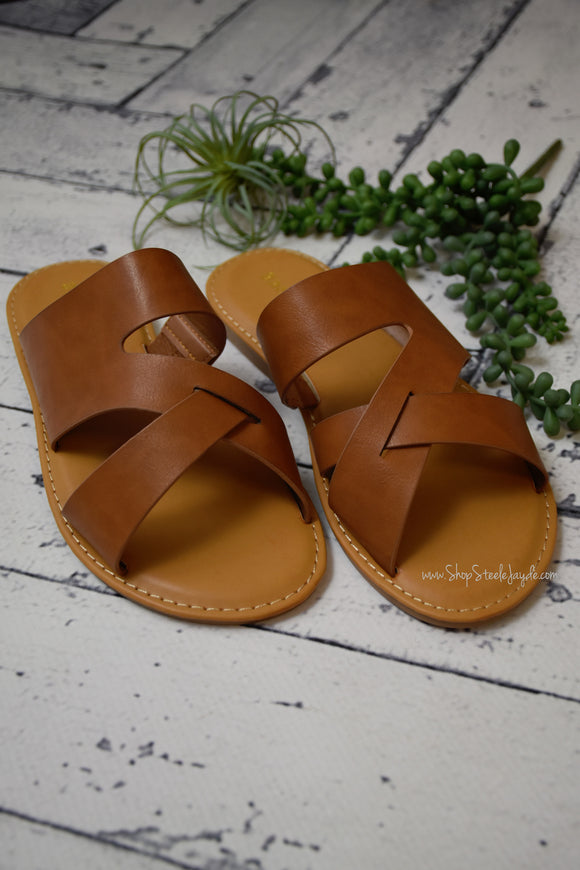 Straight Shooter Casual Slide Sandal