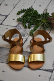 Girls Asher Gold Sandal CLEARANCE