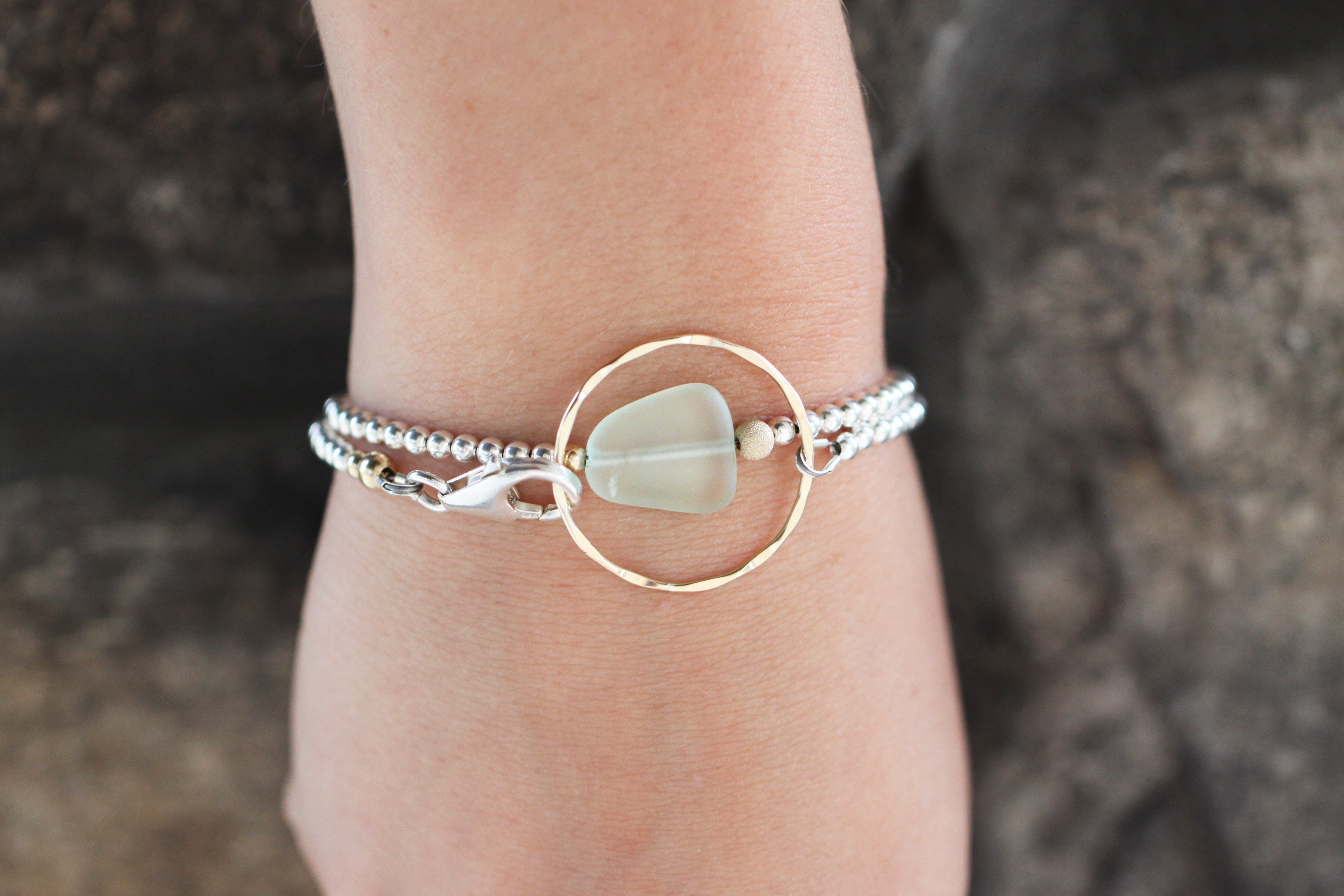 'Beautifully Broken'  Wrap Bracelet