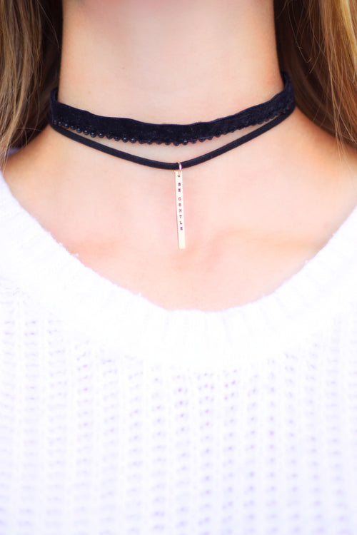 'Be Gentle' Choker