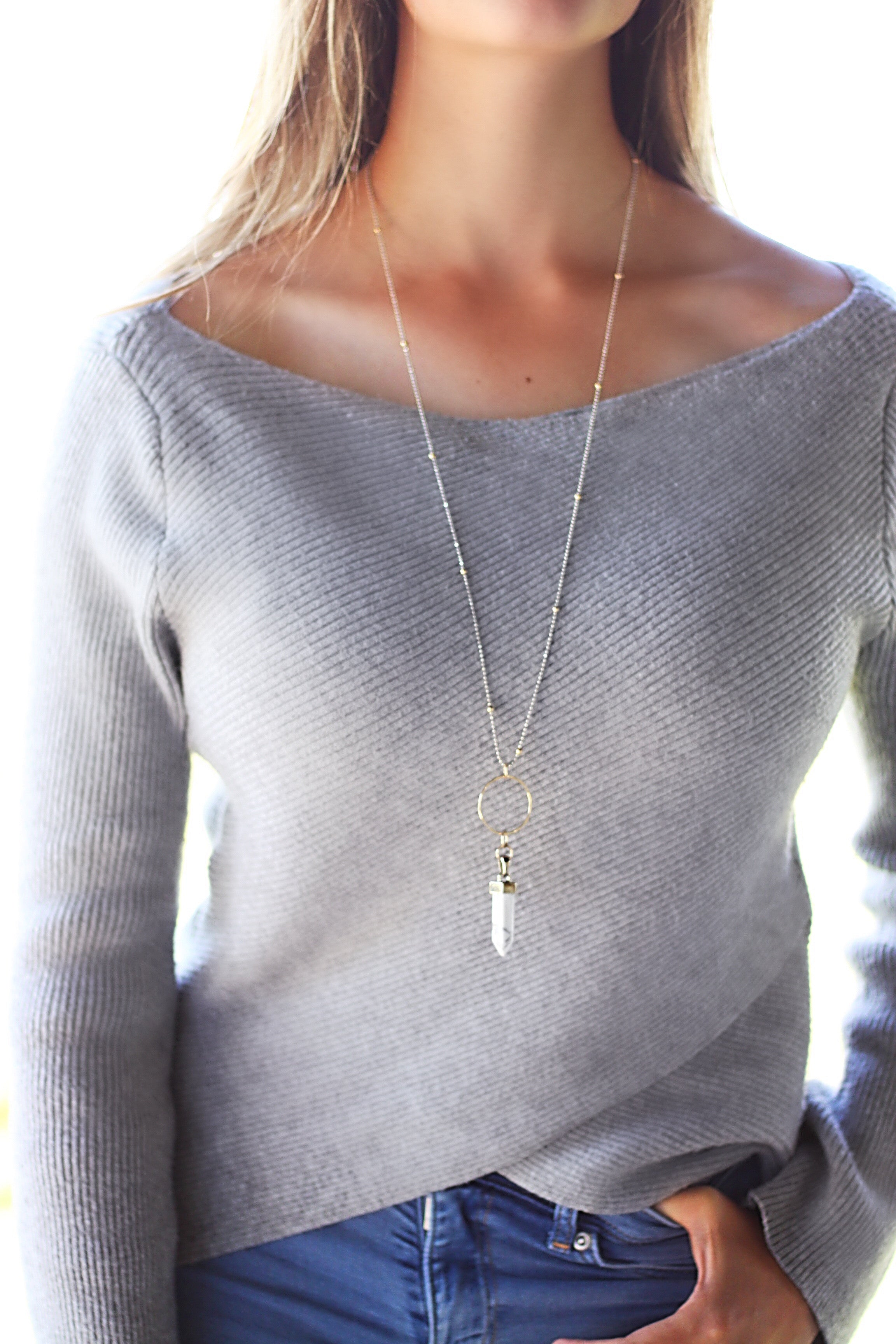 'Stand Tall' Necklace
