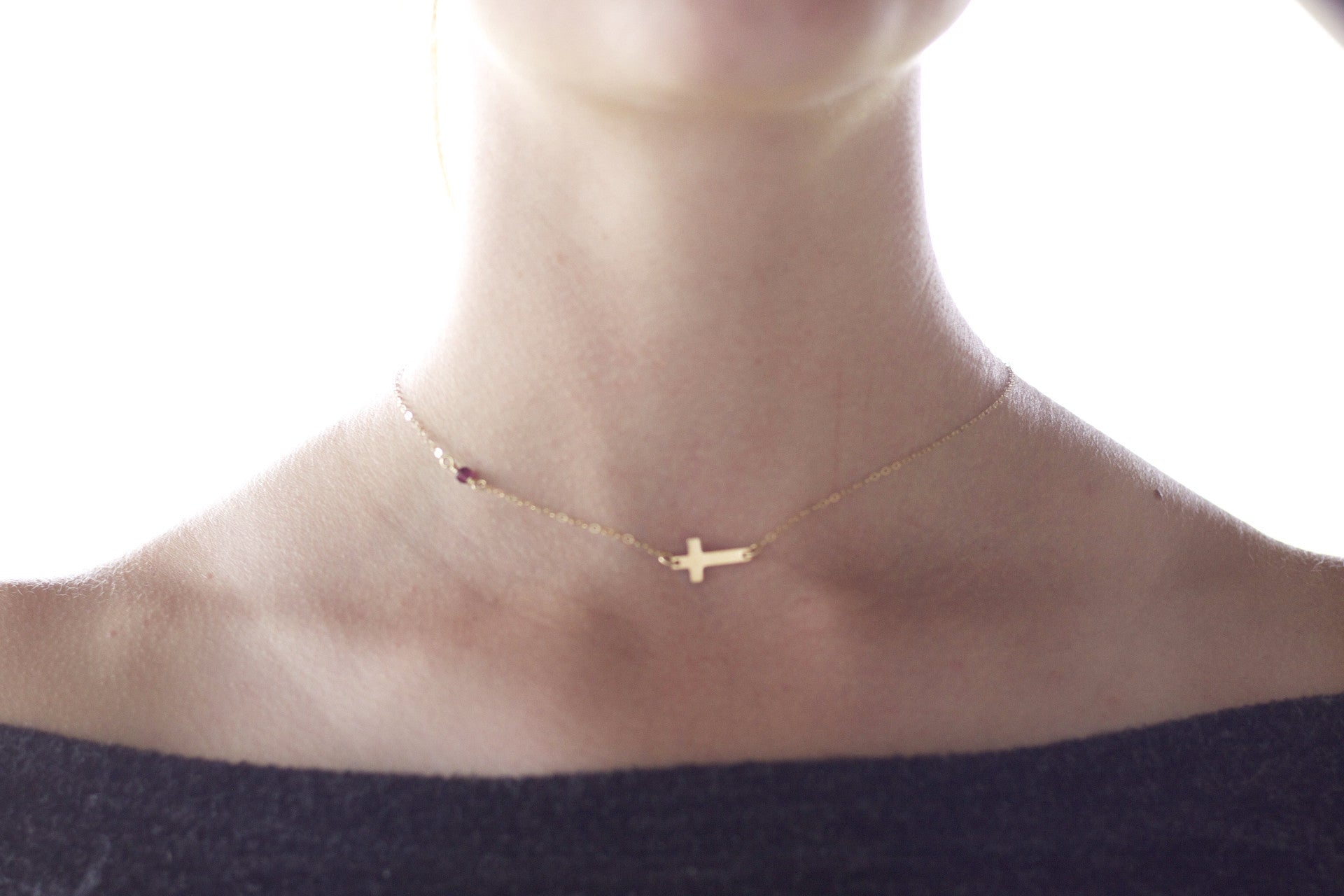 'Faith & Courage'  Necklace