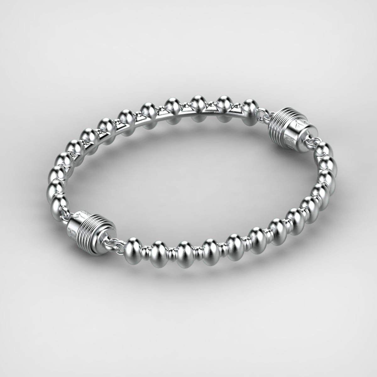 'Eternal'  Sterling silver women's bracelet - tinybird