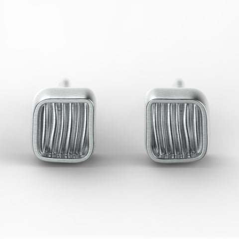 'Eden Tex'  Sterling silver earring droppers